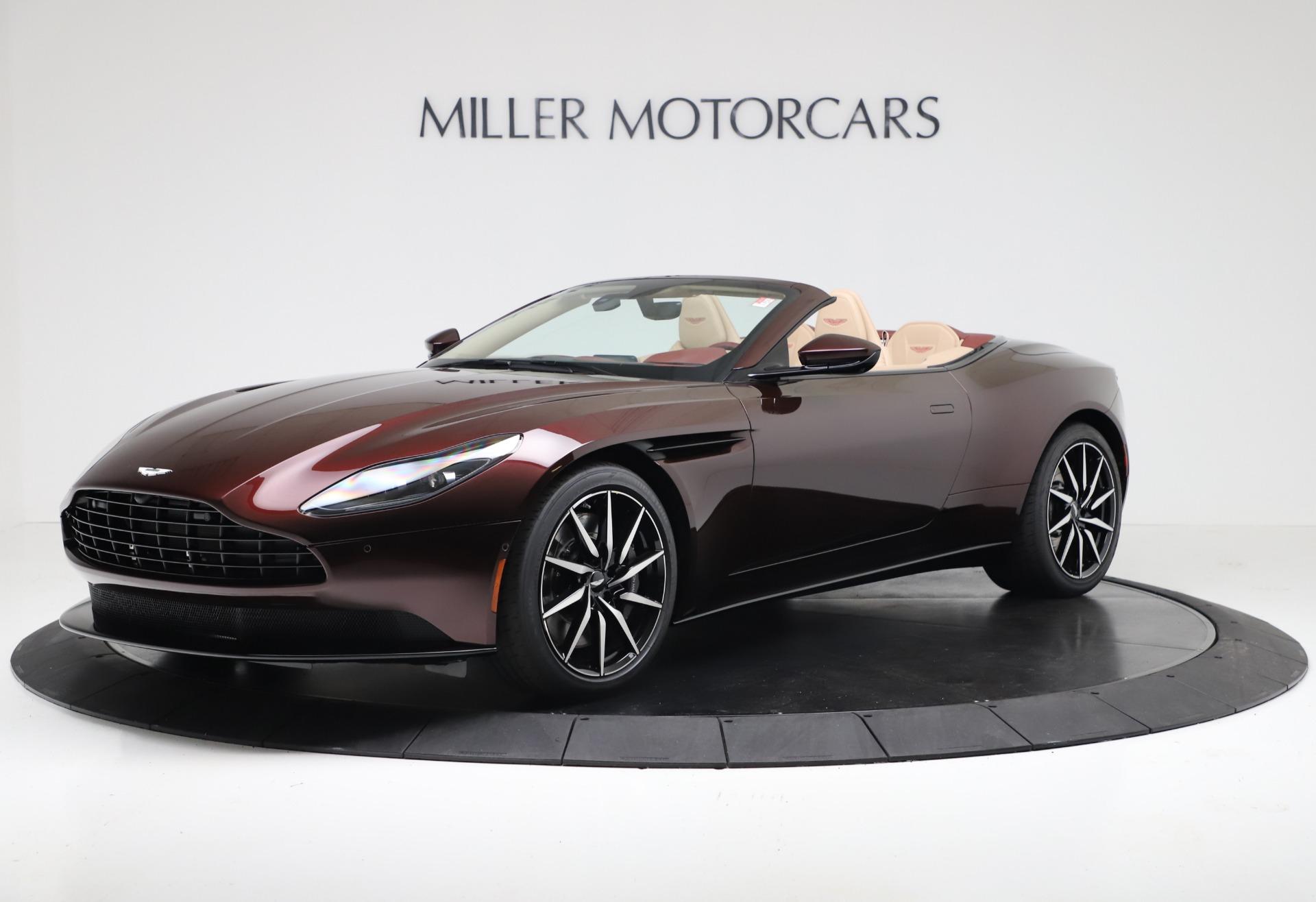 Used 2020 Aston Martin DB11 Volante for sale Sold at Alfa Romeo of Greenwich in Greenwich CT 06830 1