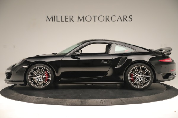 Used 2014 Porsche 911 Turbo for sale Sold at Alfa Romeo of Greenwich in Greenwich CT 06830 3
