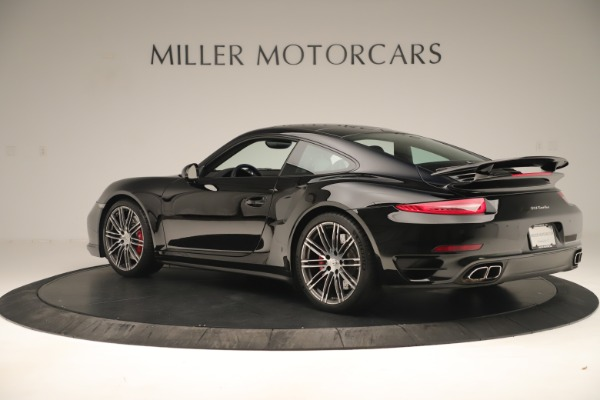 Used 2014 Porsche 911 Turbo for sale Sold at Alfa Romeo of Greenwich in Greenwich CT 06830 4