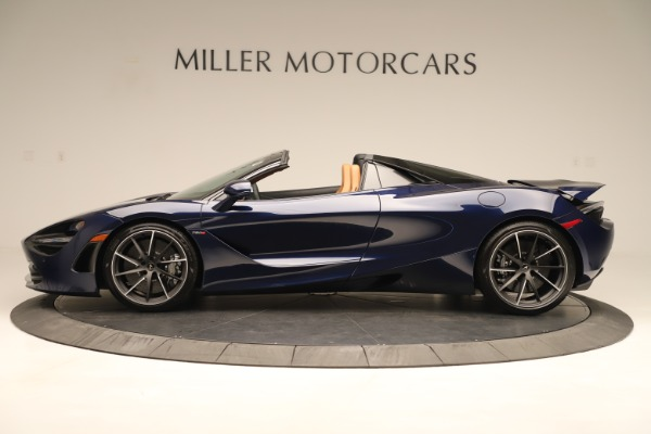 New 2020 McLaren 720S Spider for sale $372,250 at Alfa Romeo of Greenwich in Greenwich CT 06830 2