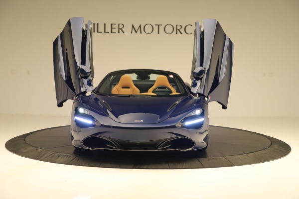 New 2020 McLaren 720S Spider for sale $372,250 at Alfa Romeo of Greenwich in Greenwich CT 06830 27