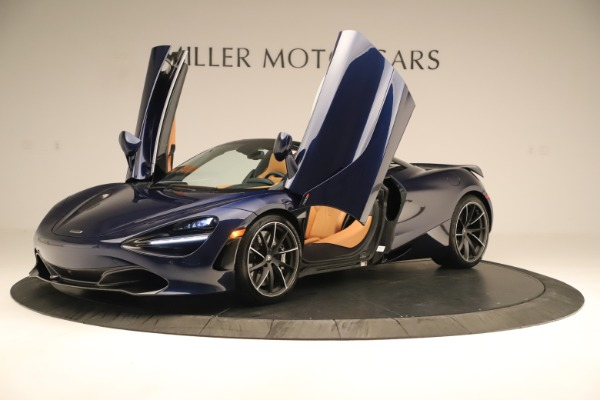 New 2020 McLaren 720S Spider for sale $372,250 at Alfa Romeo of Greenwich in Greenwich CT 06830 28