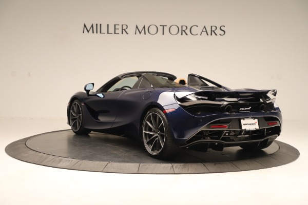 New 2020 McLaren 720S Spider for sale $372,250 at Alfa Romeo of Greenwich in Greenwich CT 06830 3