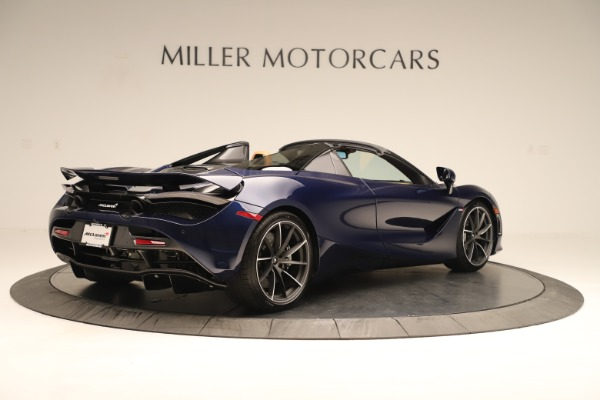 New 2020 McLaren 720S Spider Convertible for sale $372,250 at Alfa Romeo of Greenwich in Greenwich CT 06830 4