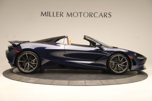 New 2020 McLaren 720S Spider for sale $372,250 at Alfa Romeo of Greenwich in Greenwich CT 06830 5