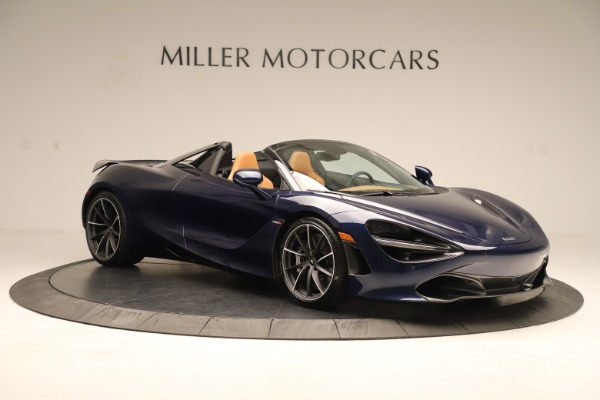 New 2020 McLaren 720S Spider Convertible for sale $372,250 at Alfa Romeo of Greenwich in Greenwich CT 06830 6