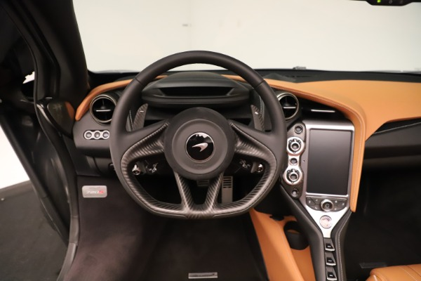 New 2020 McLaren 720S Spider for sale $372,250 at Alfa Romeo of Greenwich in Greenwich CT 06830 9