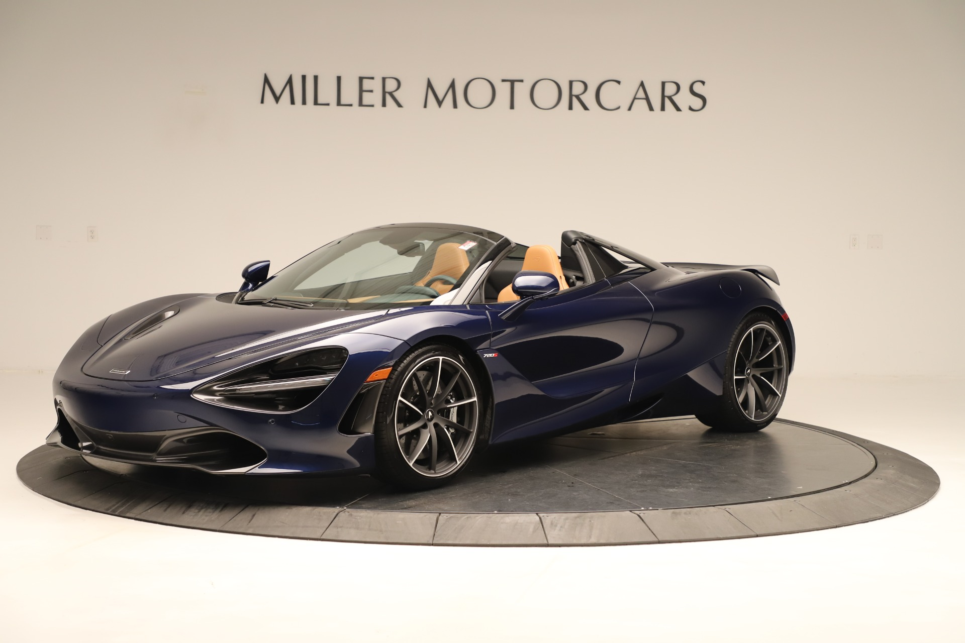 New 2020 McLaren 720S Spider for sale $372,250 at Alfa Romeo of Greenwich in Greenwich CT 06830 1