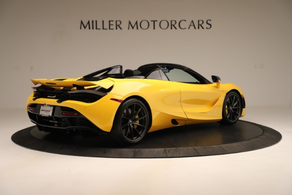 New 2020 McLaren 720S SPIDER Convertible for sale Sold at Alfa Romeo of Greenwich in Greenwich CT 06830 14