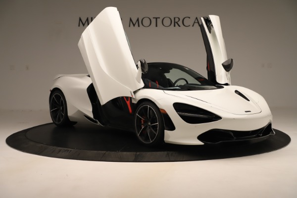 New 2020 McLaren 720S SPIDER Convertible for sale Sold at Alfa Romeo of Greenwich in Greenwich CT 06830 22