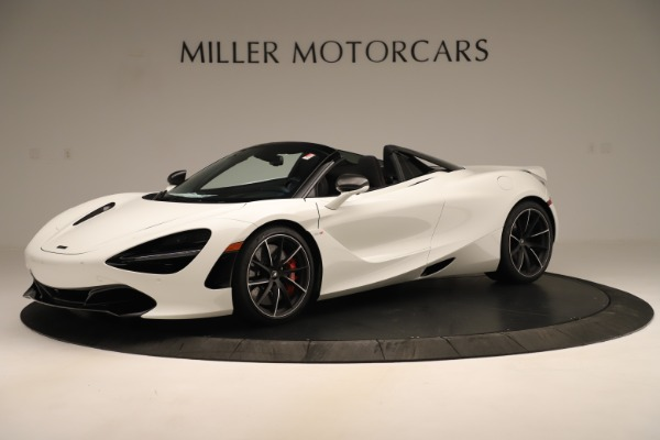 New 2020 McLaren 720S SPIDER Convertible for sale Sold at Alfa Romeo of Greenwich in Greenwich CT 06830 1