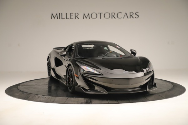 New 2019 McLaren 600LT Coupe for sale $278,790 at Alfa Romeo of Greenwich in Greenwich CT 06830 10