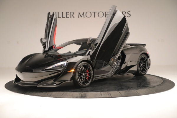 New 2019 McLaren 600LT Coupe for sale $278,790 at Alfa Romeo of Greenwich in Greenwich CT 06830 13