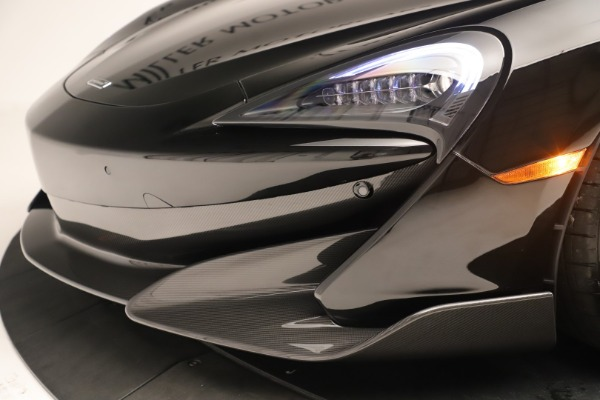 New 2019 McLaren 600LT Coupe for sale $278,790 at Alfa Romeo of Greenwich in Greenwich CT 06830 19