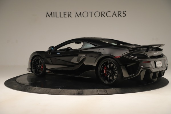 New 2019 McLaren 600LT Coupe for sale $278,790 at Alfa Romeo of Greenwich in Greenwich CT 06830 3