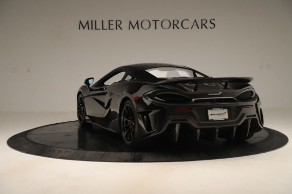 New 2019 McLaren 600LT Coupe for sale $278,790 at Alfa Romeo of Greenwich in Greenwich CT 06830 4
