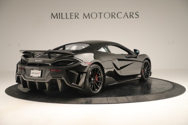 New 2019 McLaren 600LT Coupe for sale $278,790 at Alfa Romeo of Greenwich in Greenwich CT 06830 6