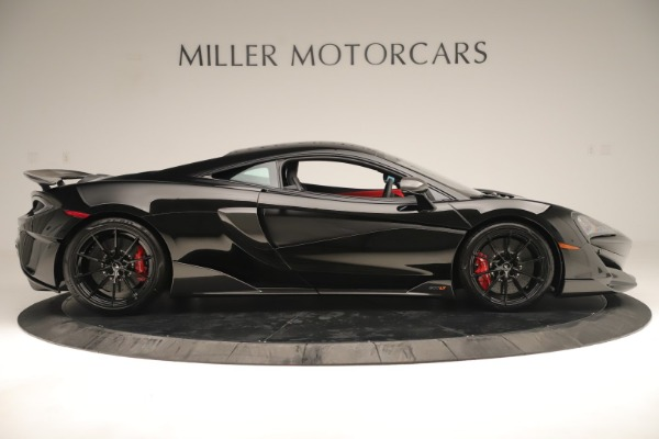 New 2019 McLaren 600LT Coupe for sale $278,790 at Alfa Romeo of Greenwich in Greenwich CT 06830 8