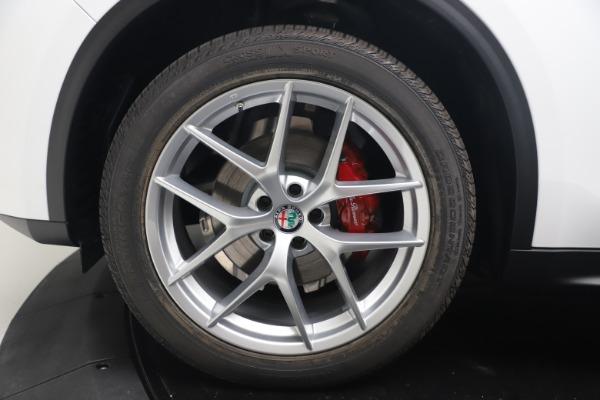 New 2019 Alfa Romeo Stelvio Ti Lusso Q4 for sale Sold at Alfa Romeo of Greenwich in Greenwich CT 06830 28