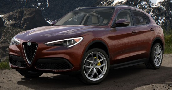 New 2019 Alfa Romeo Stelvio Ti Lusso Q4 for sale Sold at Alfa Romeo of Greenwich in Greenwich CT 06830 1