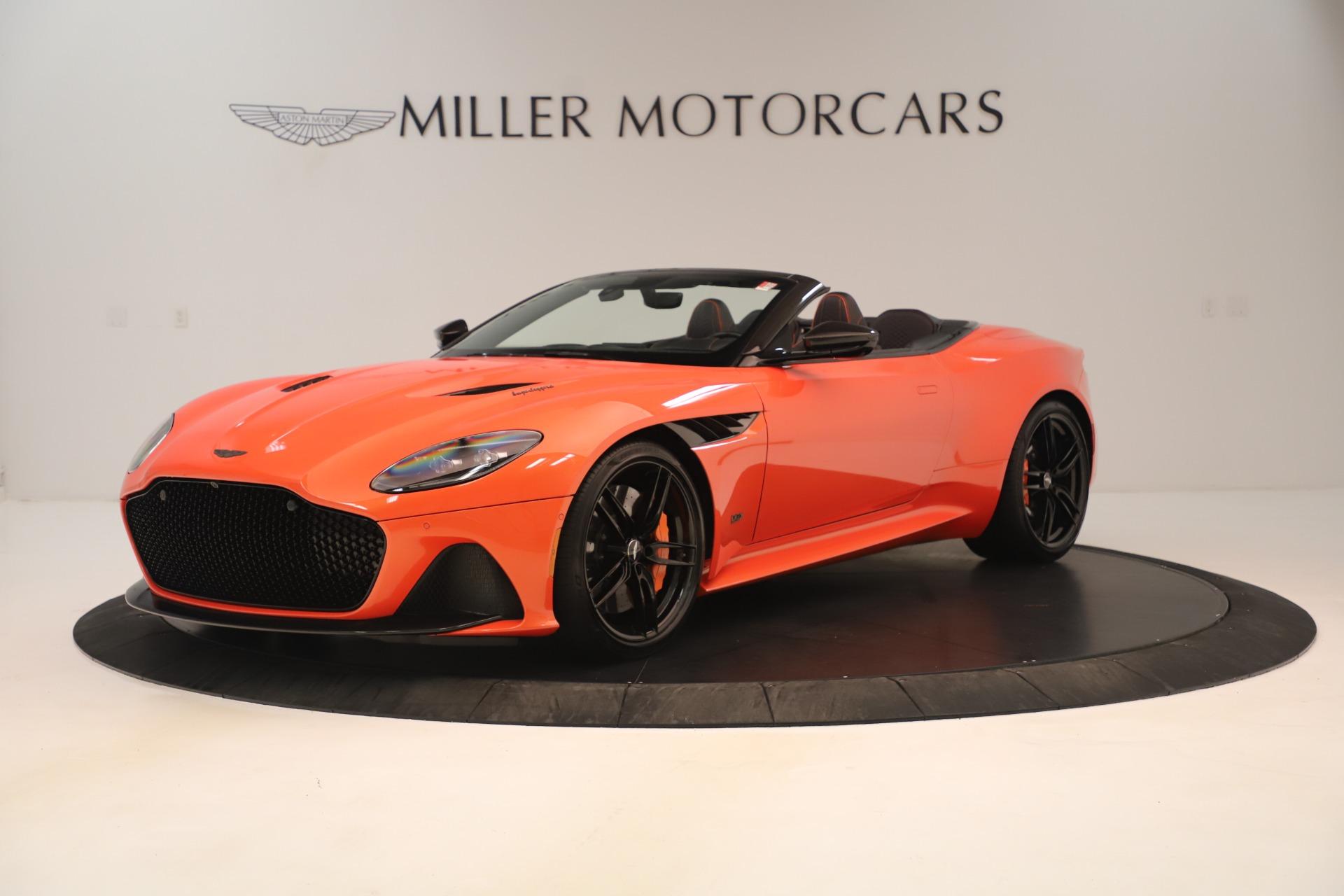 New 2020 Aston Martin DBS Superleggera for sale Call for price at Alfa Romeo of Greenwich in Greenwich CT 06830 1