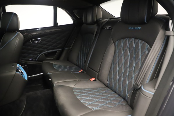 Used 2018 Bentley Mulsanne Speed Design Series for sale Sold at Alfa Romeo of Greenwich in Greenwich CT 06830 25