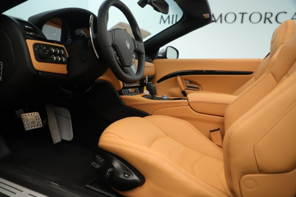 New 2019 Maserati GranTurismo Sport Convertible for sale Sold at Alfa Romeo of Greenwich in Greenwich CT 06830 20