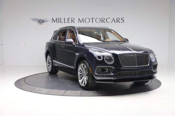 New 2020 Bentley Bentayga Speed for sale Sold at Alfa Romeo of Greenwich in Greenwich CT 06830 11