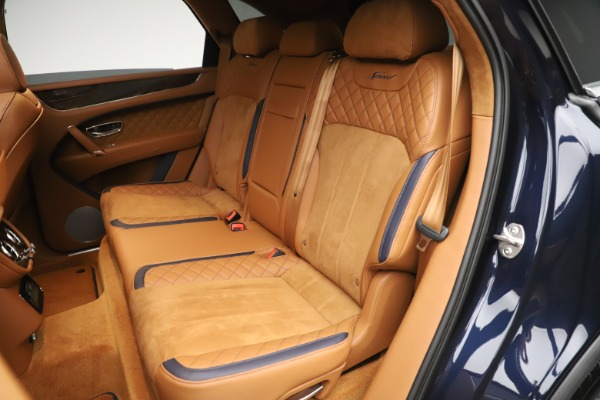 New 2020 Bentley Bentayga Speed for sale Sold at Alfa Romeo of Greenwich in Greenwich CT 06830 26