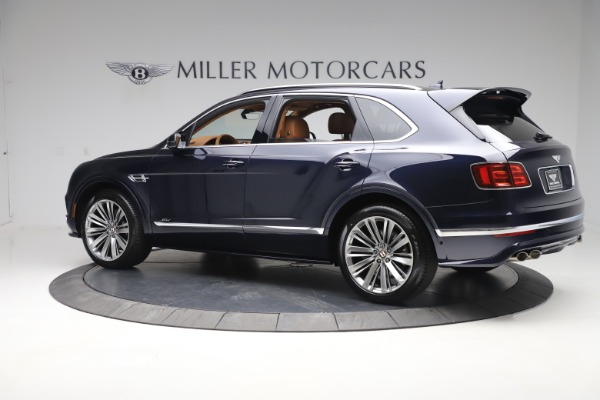 New 2020 Bentley Bentayga Speed for sale Sold at Alfa Romeo of Greenwich in Greenwich CT 06830 4