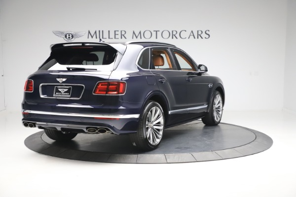 New 2020 Bentley Bentayga Speed for sale Sold at Alfa Romeo of Greenwich in Greenwich CT 06830 7