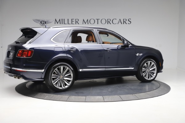 New 2020 Bentley Bentayga Speed for sale Sold at Alfa Romeo of Greenwich in Greenwich CT 06830 8