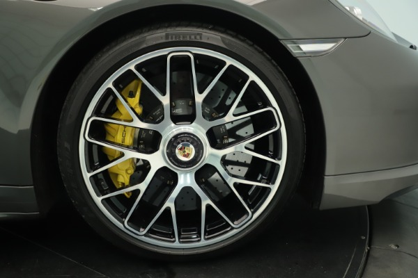 Used 2015 Porsche 911 Turbo S for sale Sold at Alfa Romeo of Greenwich in Greenwich CT 06830 13