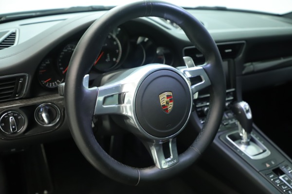Used 2015 Porsche 911 Turbo S for sale Sold at Alfa Romeo of Greenwich in Greenwich CT 06830 23