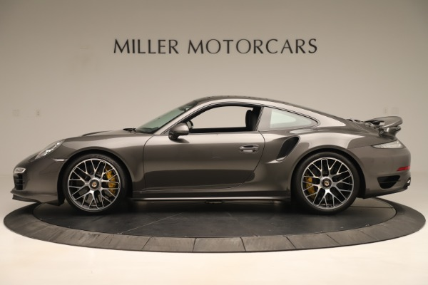 Used 2015 Porsche 911 Turbo S for sale Sold at Alfa Romeo of Greenwich in Greenwich CT 06830 3