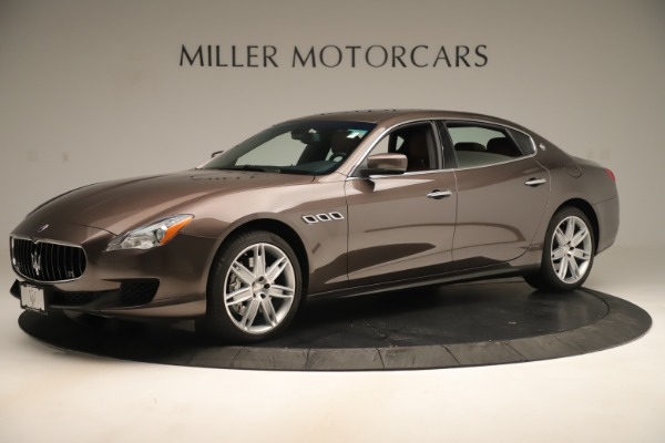 Used 2014 Maserati Quattroporte S Q4 for sale Sold at Alfa Romeo of Greenwich in Greenwich CT 06830 2