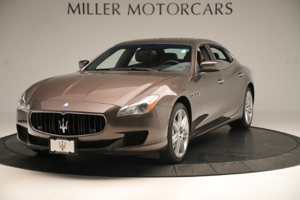 Used 2014 Maserati Quattroporte S Q4 for sale Sold at Alfa Romeo of Greenwich in Greenwich CT 06830 1