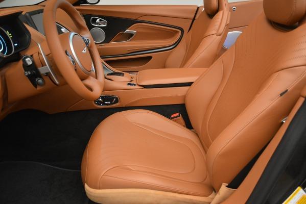 Used 2019 Aston Martin DB11 V8 Volante for sale Sold at Alfa Romeo of Greenwich in Greenwich CT 06830 19