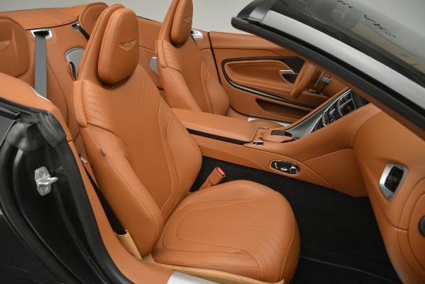 Used 2019 Aston Martin DB11 V8 Volante for sale Sold at Alfa Romeo of Greenwich in Greenwich CT 06830 21