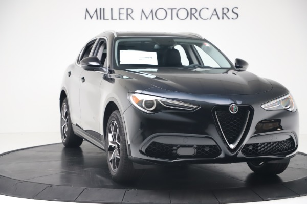 New 2019 Alfa Romeo Stelvio Ti Q4 for sale Sold at Alfa Romeo of Greenwich in Greenwich CT 06830 11
