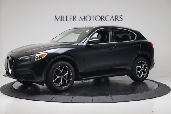 New 2019 Alfa Romeo Stelvio Ti Q4 for sale Sold at Alfa Romeo of Greenwich in Greenwich CT 06830 2