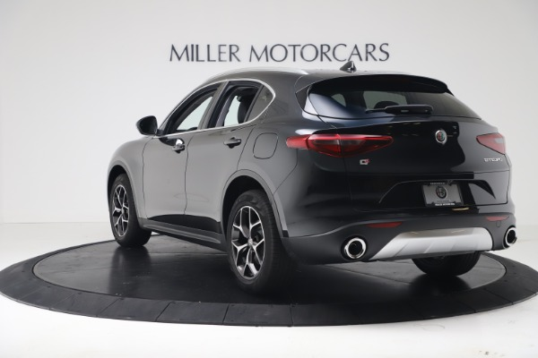 New 2019 Alfa Romeo Stelvio Ti Q4 for sale Sold at Alfa Romeo of Greenwich in Greenwich CT 06830 5