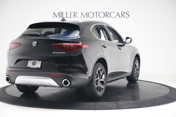 New 2019 Alfa Romeo Stelvio Ti Q4 for sale Sold at Alfa Romeo of Greenwich in Greenwich CT 06830 7