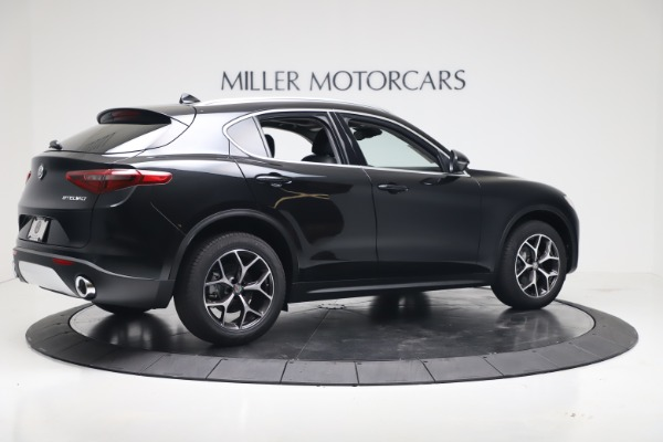 New 2019 Alfa Romeo Stelvio Ti Q4 for sale Sold at Alfa Romeo of Greenwich in Greenwich CT 06830 8