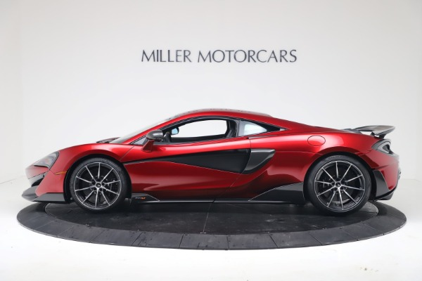 New 2019 McLaren 600LT for sale $285,236 at Alfa Romeo of Greenwich in Greenwich CT 06830 2