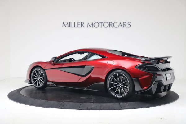 New 2019 McLaren 600LT for sale $285,236 at Alfa Romeo of Greenwich in Greenwich CT 06830 3