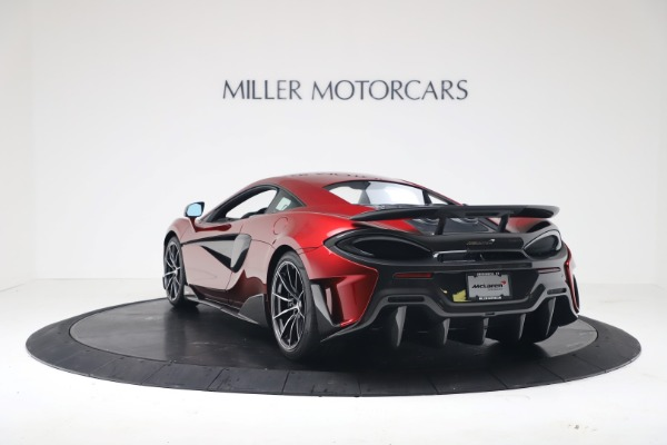 New 2019 McLaren 600LT Coupe for sale $285,236 at Alfa Romeo of Greenwich in Greenwich CT 06830 4