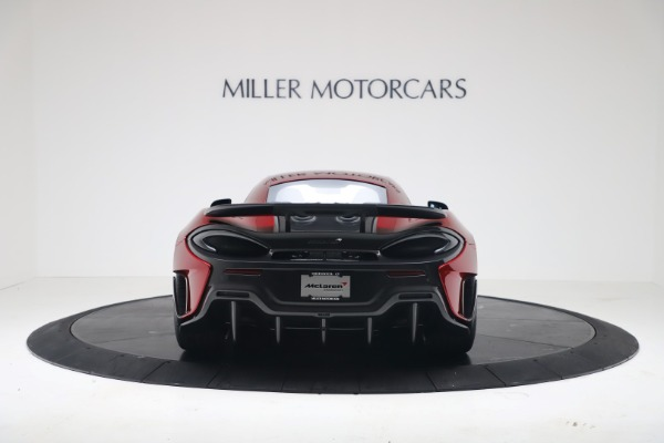 New 2019 McLaren 600LT Luxury for sale $285,236 at Alfa Romeo of Greenwich in Greenwich CT 06830 5