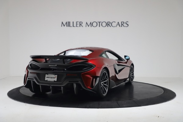 New 2019 McLaren 600LT for sale $285,236 at Alfa Romeo of Greenwich in Greenwich CT 06830 6