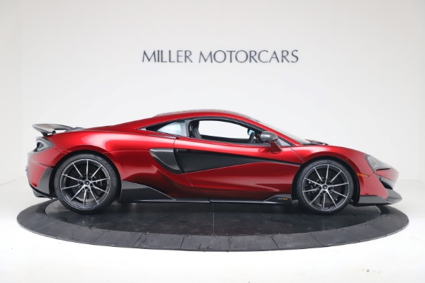 New 2019 McLaren 600LT for sale $285,236 at Alfa Romeo of Greenwich in Greenwich CT 06830 8